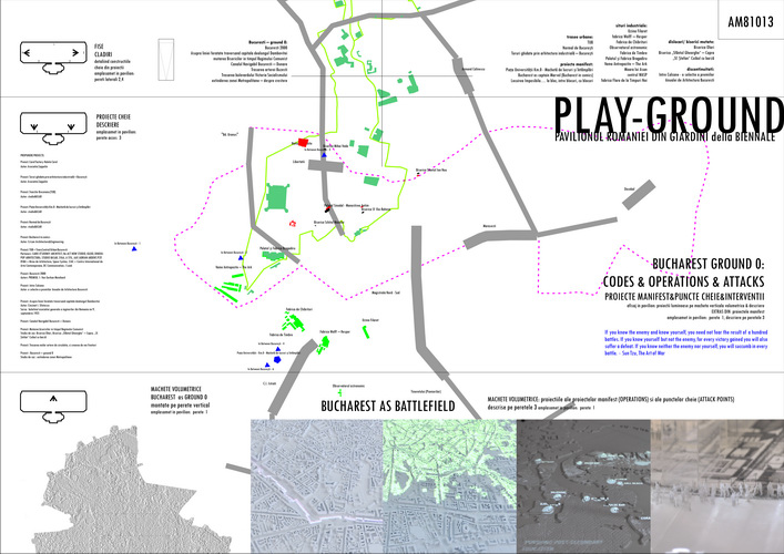 Bav Romanian Pavilion Biennale Di Venezia Crisan - Venice biennale 2016 map